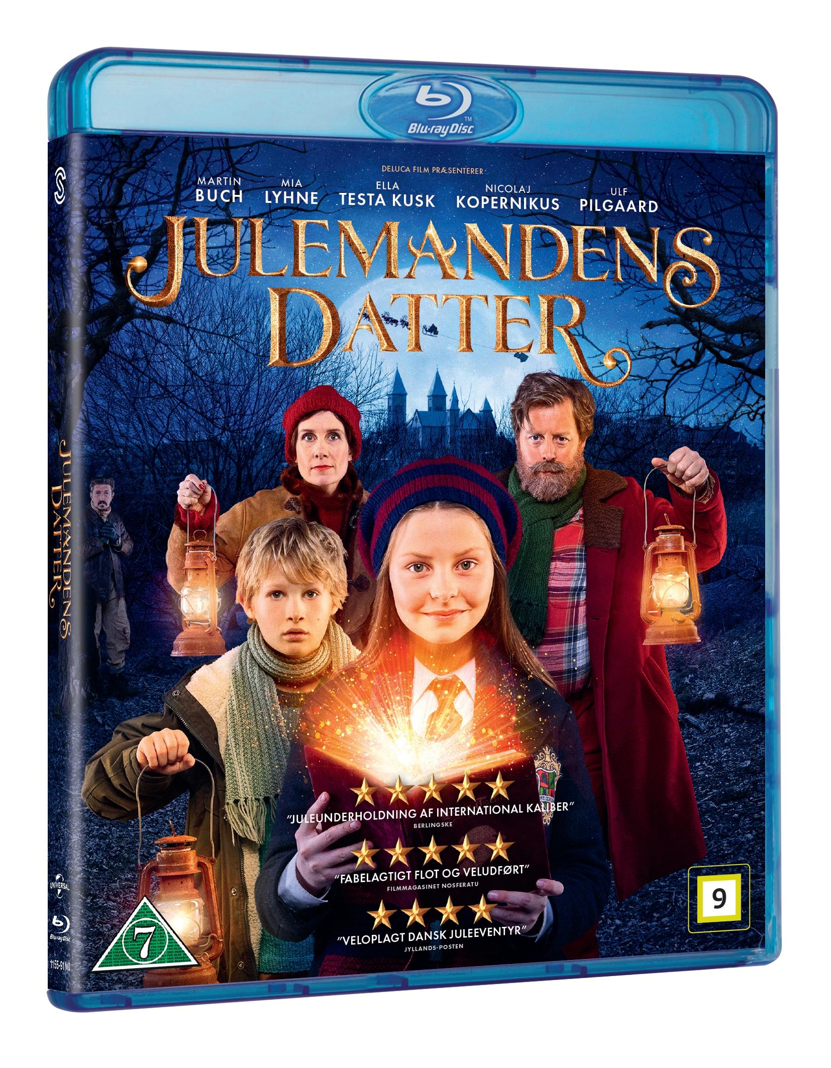 Julemandens Datter - Blu ray