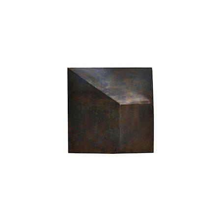 Tavle Fold Design Antikk Brun 75x75 cm