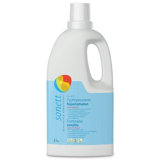 Sonett Ekologiskt Flytande Tvättmedel Sensitive, 2 L