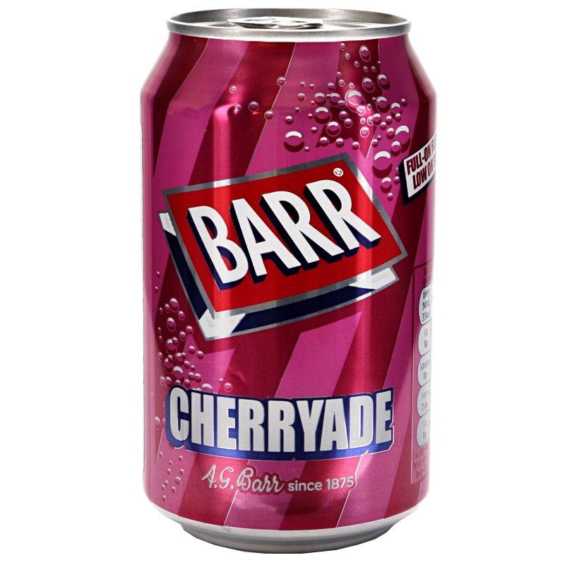 Läsk Cherryade - 33% rabatt