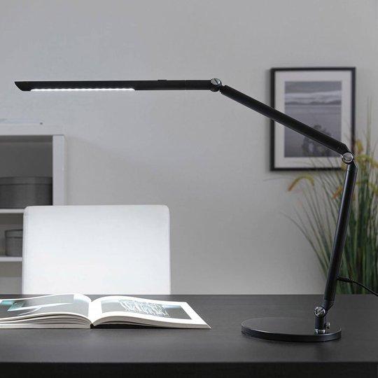 Paulmann FlexBar -LED-työpöytälamppu musta