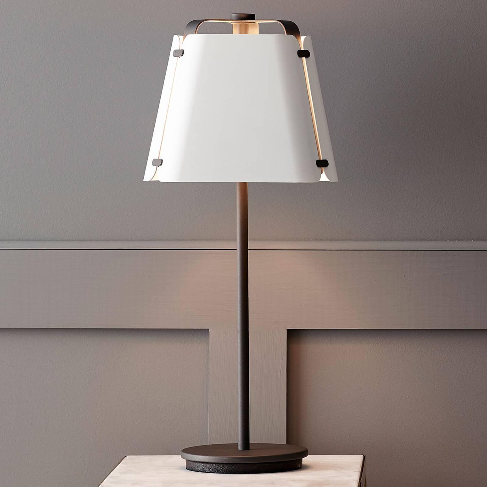Bordlampe Fold i metall