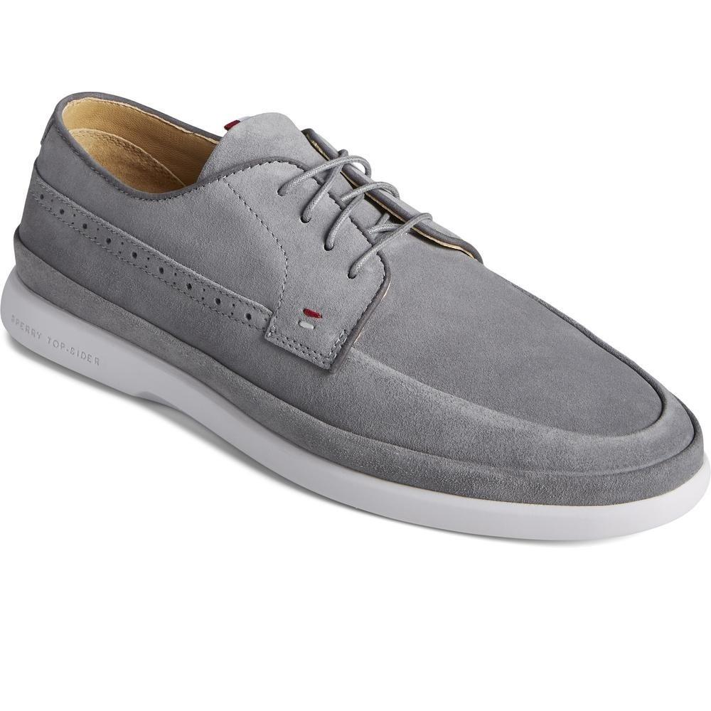 Sperry Men's Cabo Plushwave Boat Shoes Various Colours 32927 - Grey 8