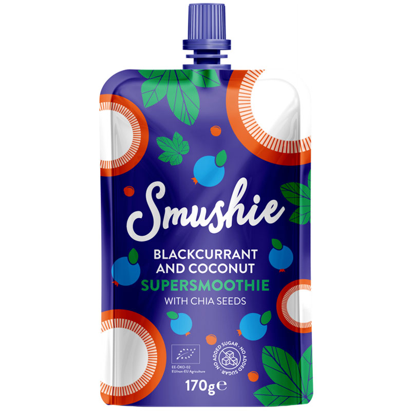 "Eko Smoothie ""Blackcurrant & Coconut"" 170g - 34% rabatt"