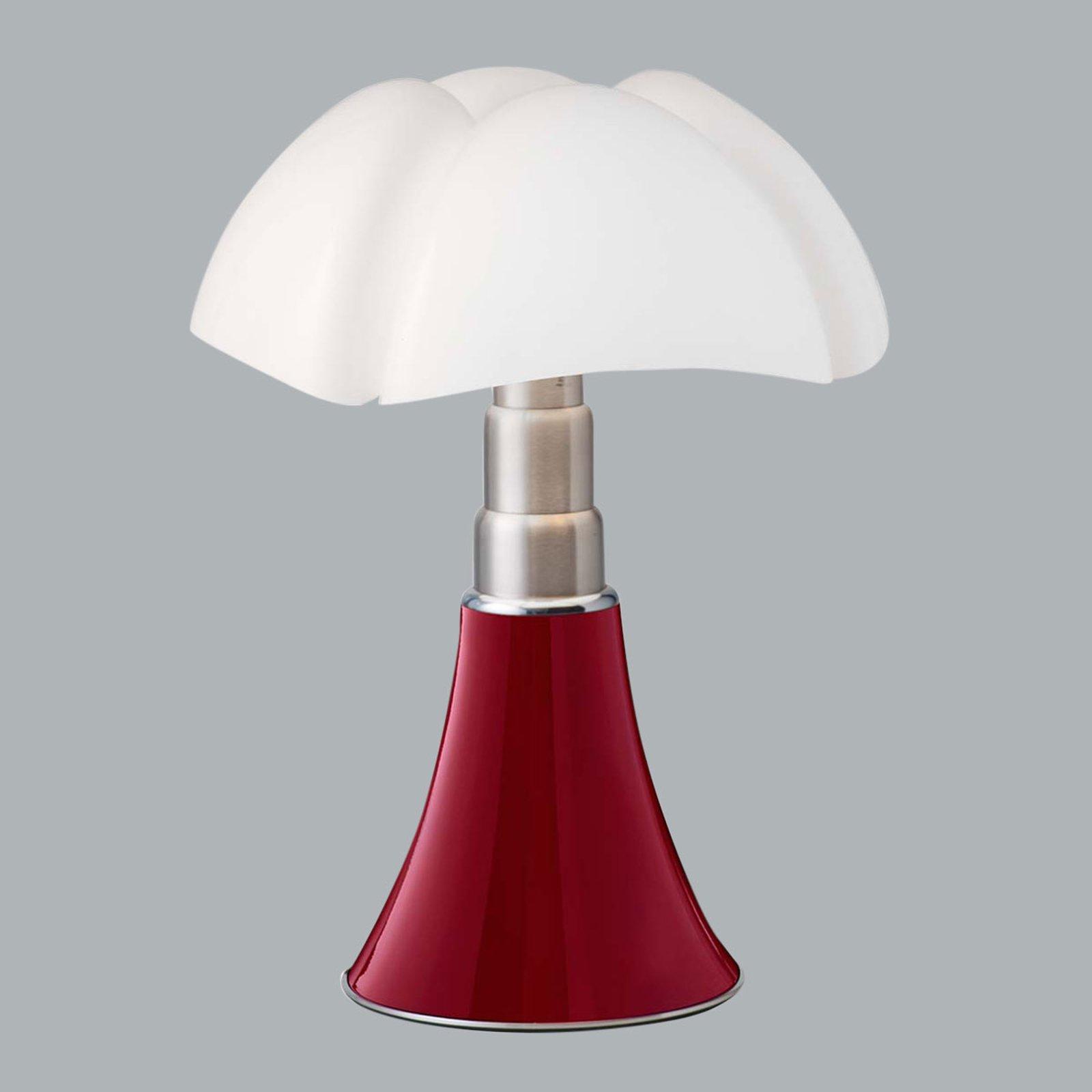 Martinelli Luce Minipipistrello bordlampe rød