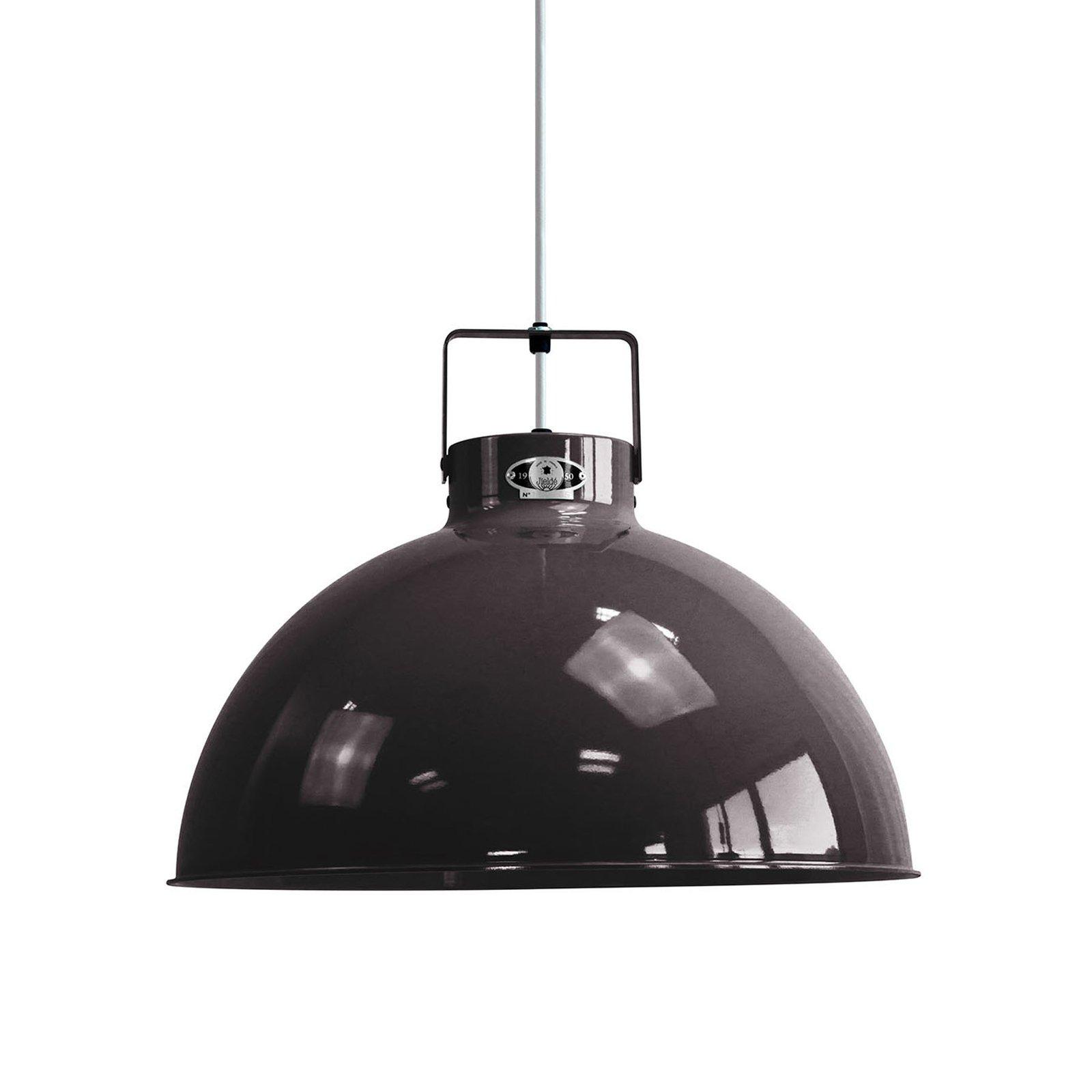 Jieldé Dante D450 hengelampe, svart, Ø 45 cm
