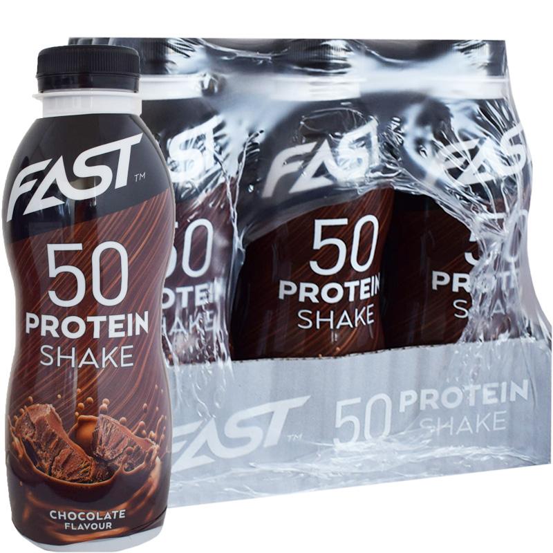 Proteiinijuomia Suklaa 12kpl - 73% alennus