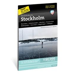 Calazo Skridskokarta Stockholm 1:30.000