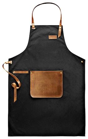 Förkläde Canvas Leather