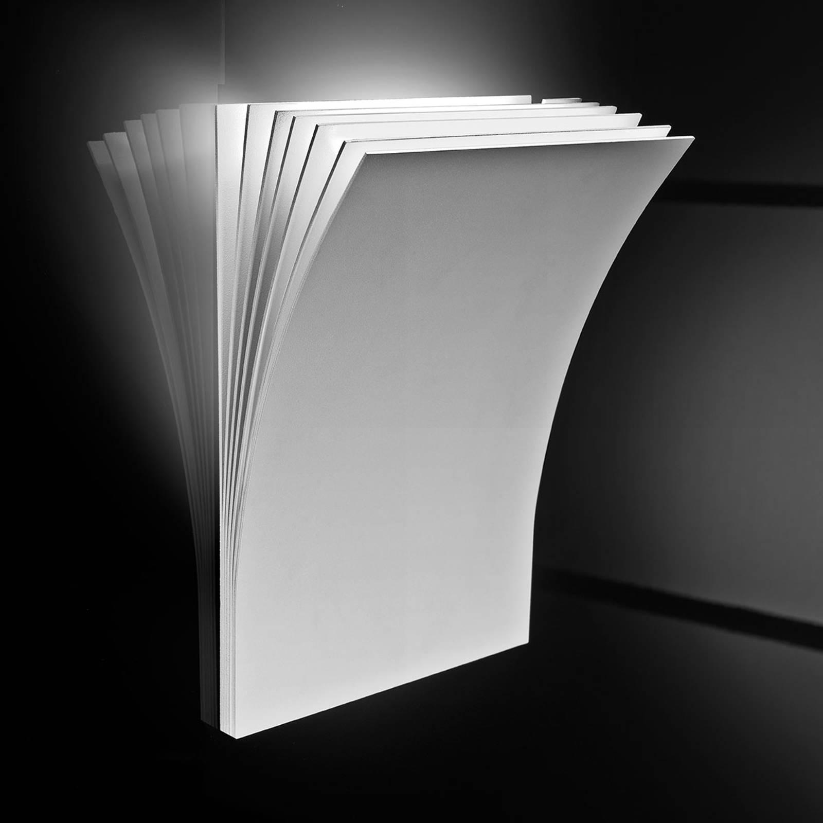 Axolight Polia LED-seinävalaisin, valkoinen 19 cm