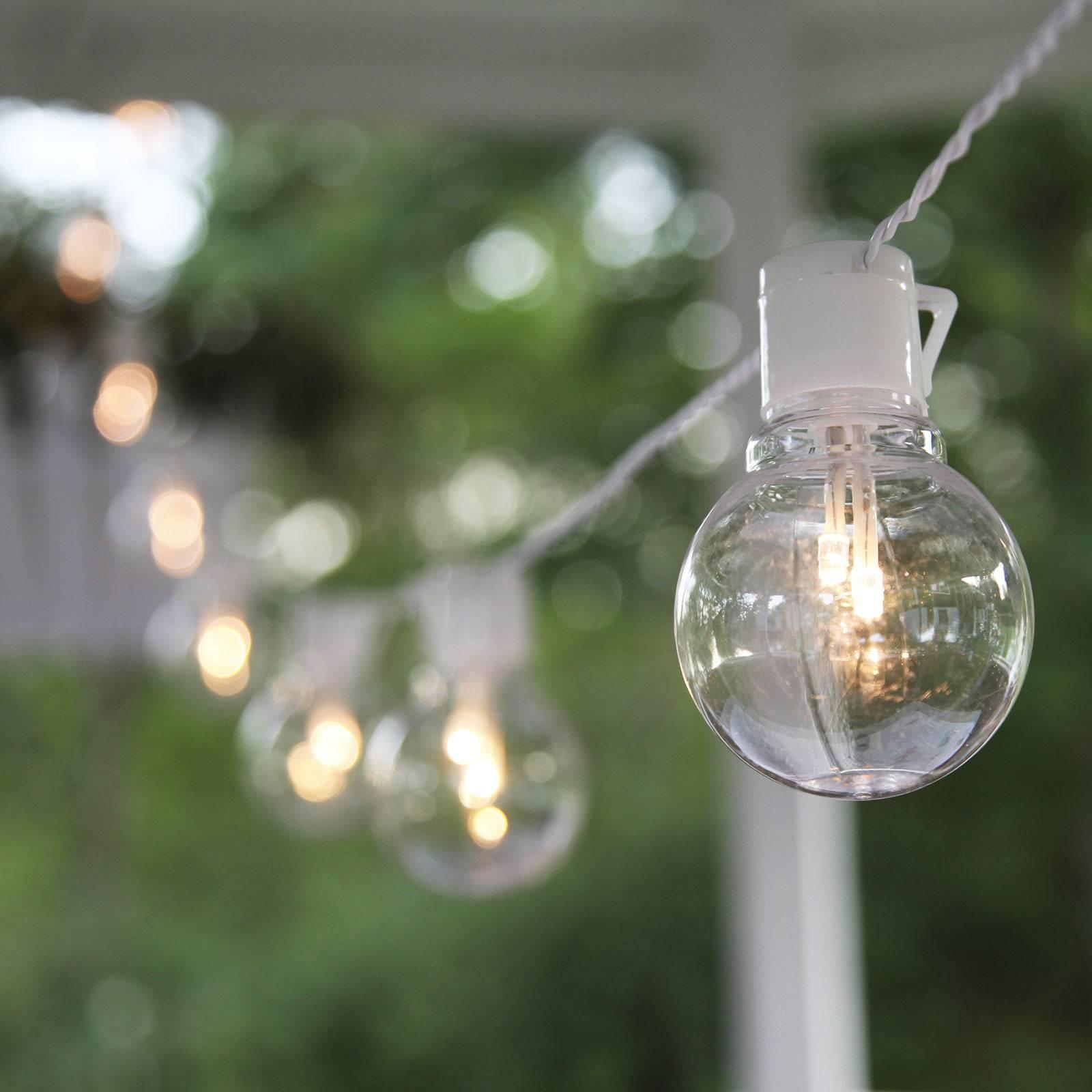 LED-valoketju Partaj, valkoinen