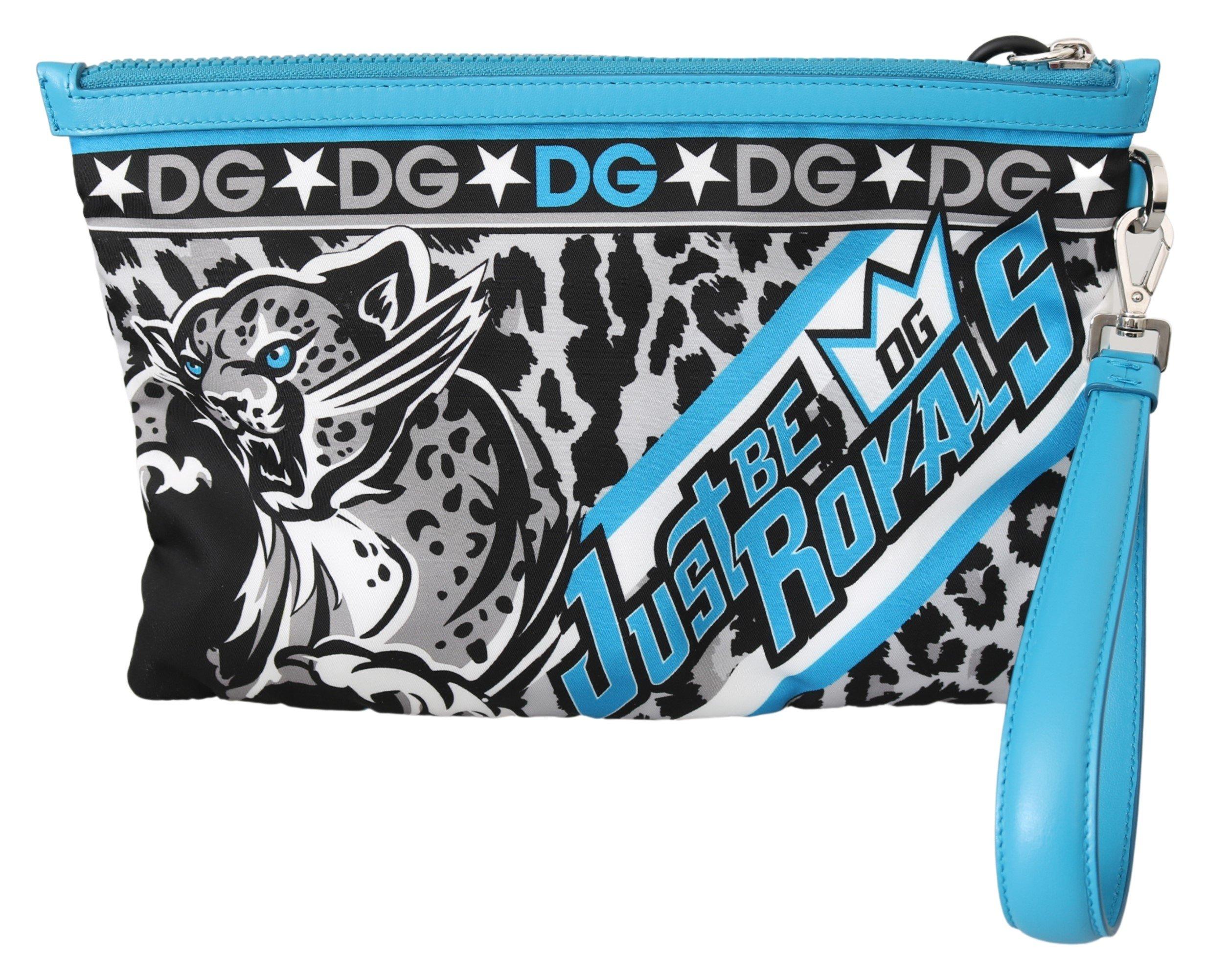 Dolce & Gabbana Women's Tiger Wrist Strap Wallet Multicolor VAS10055