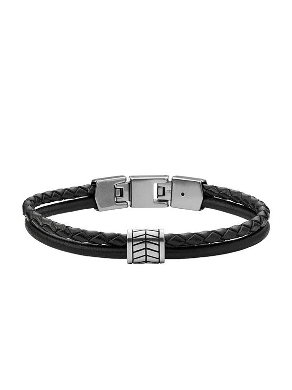 FOSSIL Armband Vintage Casual - Svart JF03848040