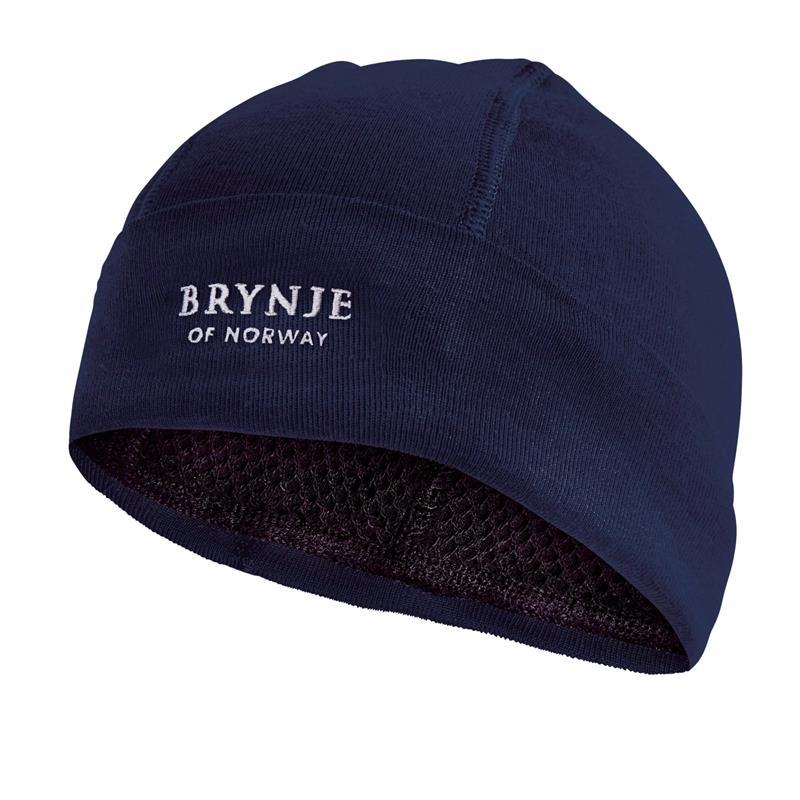 Brynje Arctic Hat Original S Marine Lue med netting på innsiden