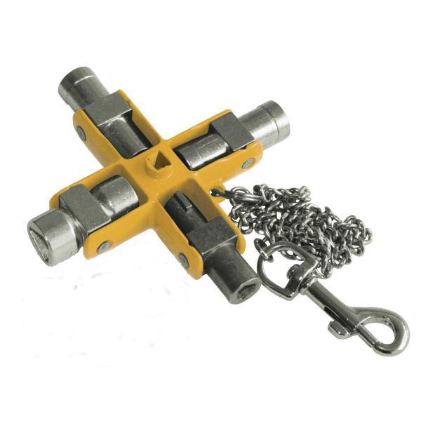 Ironside 117216 Apparatskapnøkkel med 11 dimensjoner