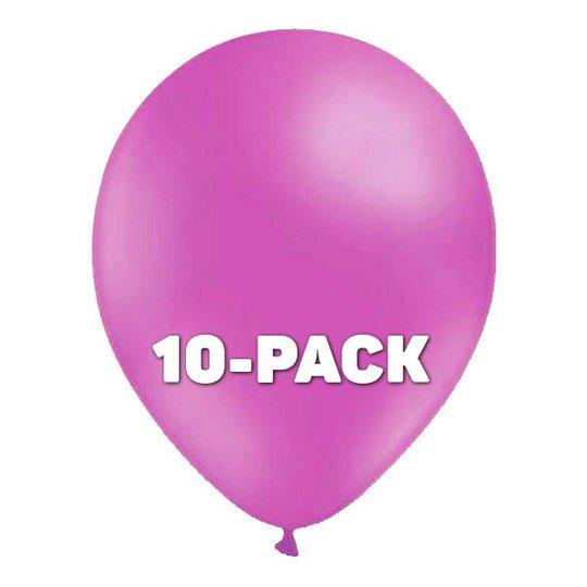 Ballonger Ljuslila - 10-pack