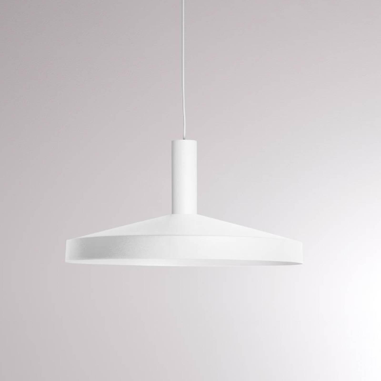 LOUM Lora Shade 3 -LED-riippuvalaisin valkoinen