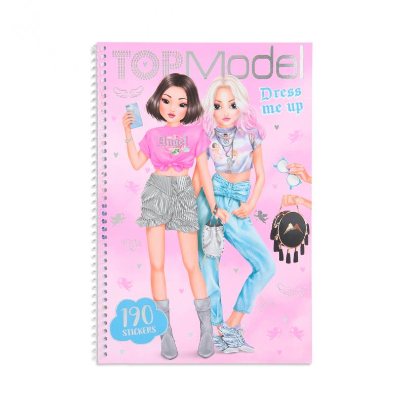 Top Model - Dress me up Design Book - Kitchy Angle (0411444)