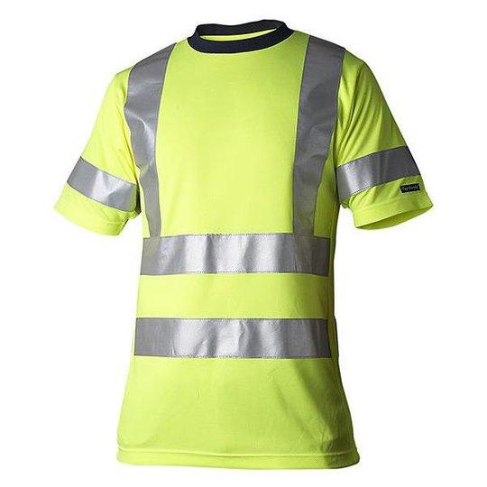 Top Swede 224 T-paita huomiotakki, keltainen Koko XS