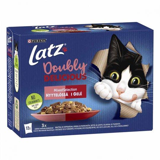 Latz Doubly Delicious Mixed Selection Gelé Multipack 12x85 g