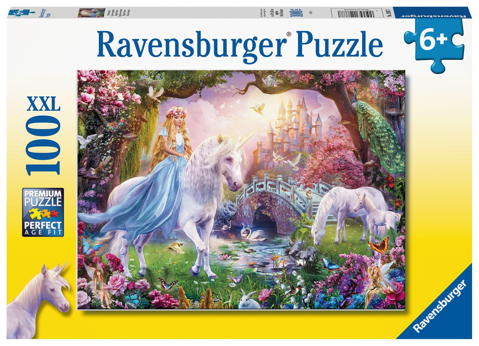 Ravensburger Pussel Magisk Enhörning 100 Bitar