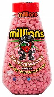 Millions Gift Jar Sour Strawberry 227g