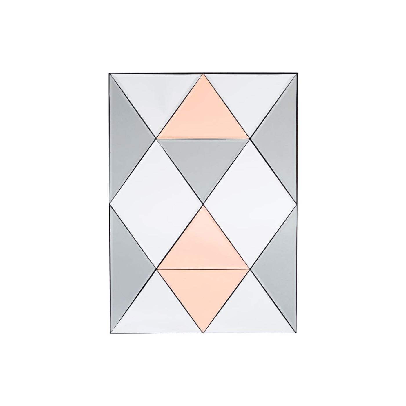 Rhomb Spegel 70 cm, House Doctor