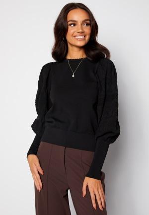 ONLY Melita L/S O-Neck Pullover Black S