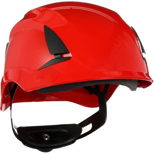 3M SecureFit X5505NVE Suojakypärä Ilmastoimaton, 1000 V Punainen