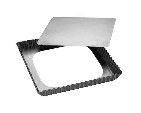 Silvertop Paiform 21x21cm Sølv