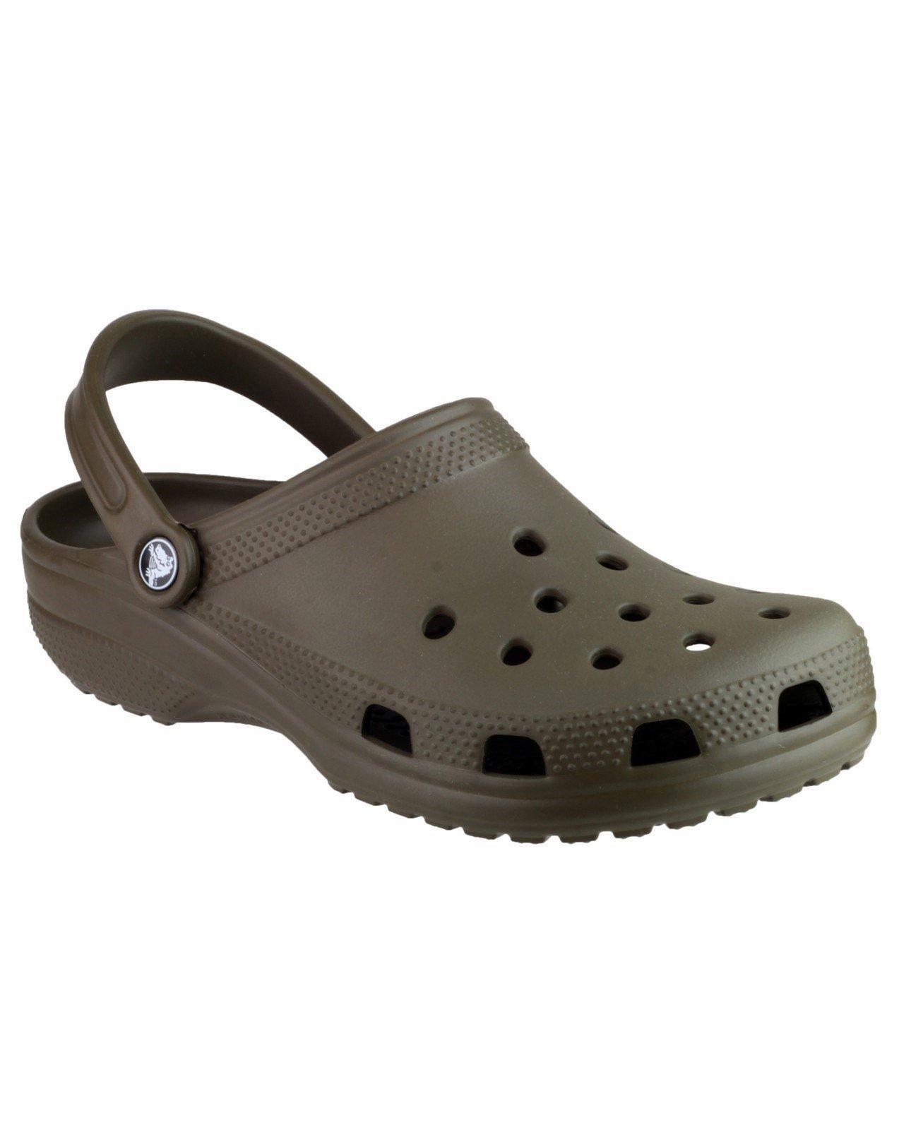 Crocs Unisex Classic Clog Sandal Various Colours 21060 - Brown 3