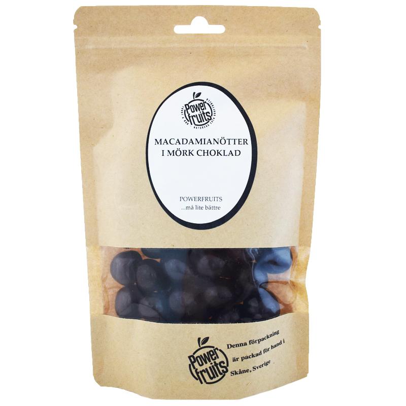 Macadamianötter Mörk Choklad 250g - 25% rabatt