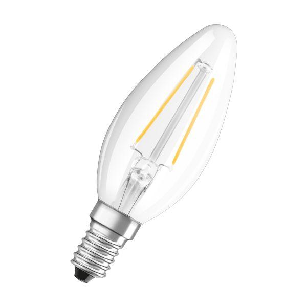 Osram PARATHOM Retrofit CLASSIC B LED-valo 2700K, E14 Kirkas