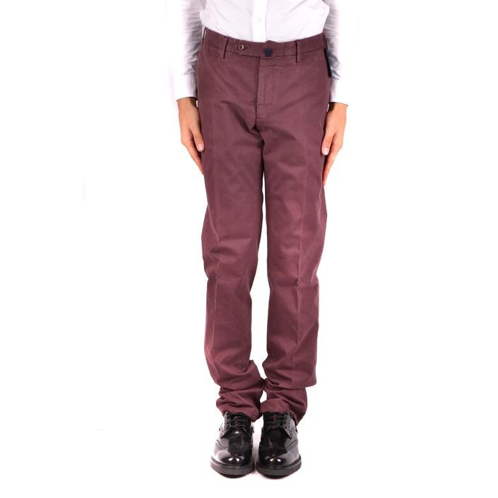 Incotex Men's Trouser Bordeaux 163590 - bordeaux 50