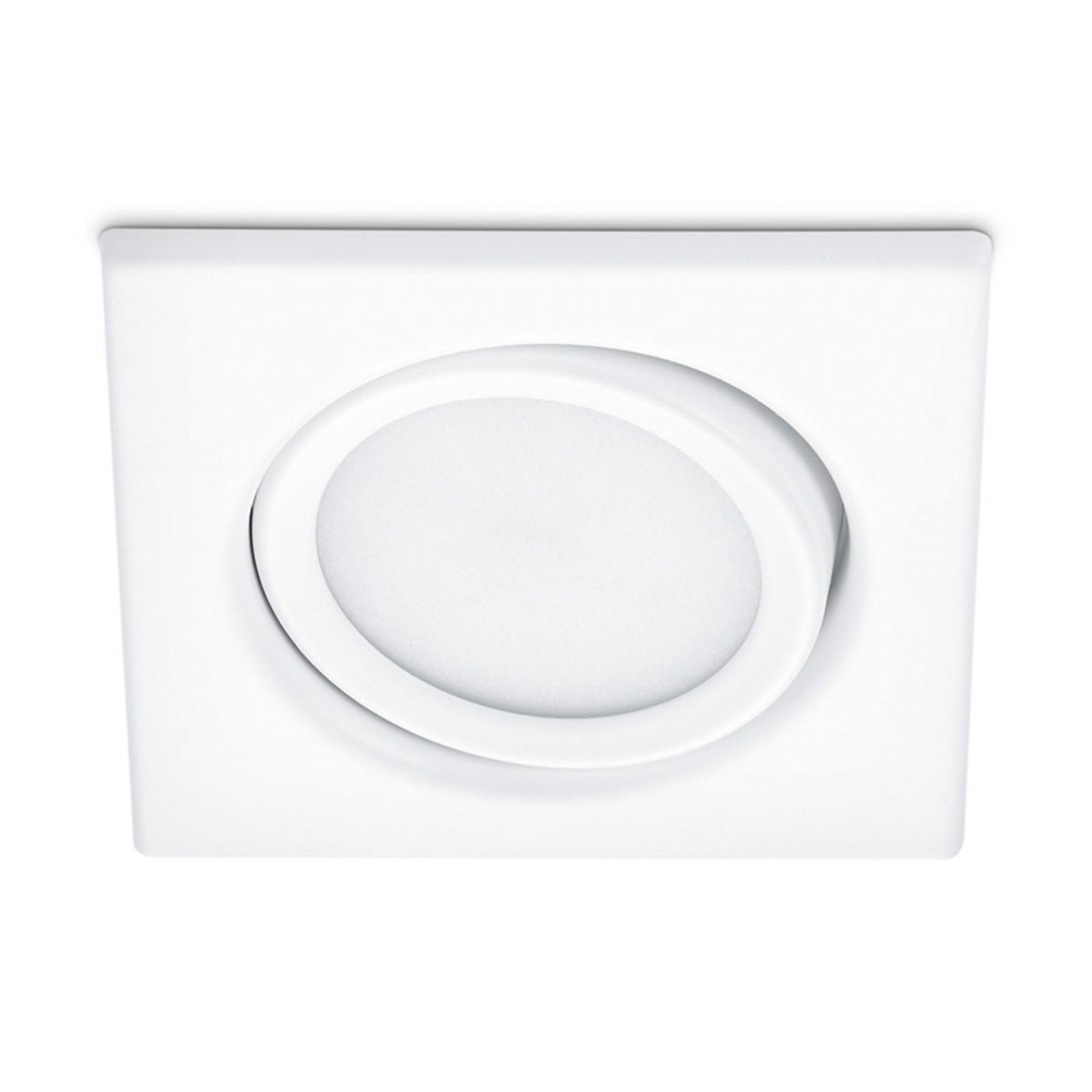 Upotettava LED-kohdevalaisin Rila, valkoinen