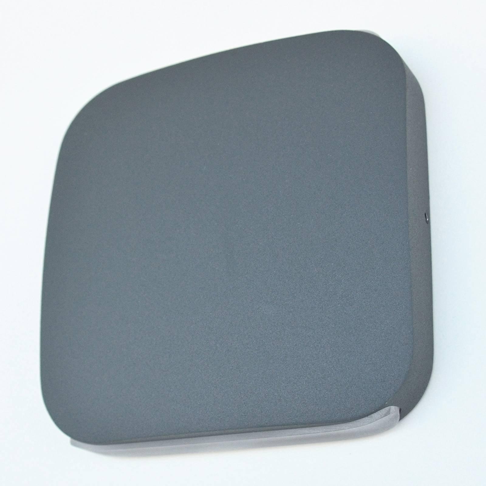 Utendørs LED-vegglampe Astuccio, mørkegrå