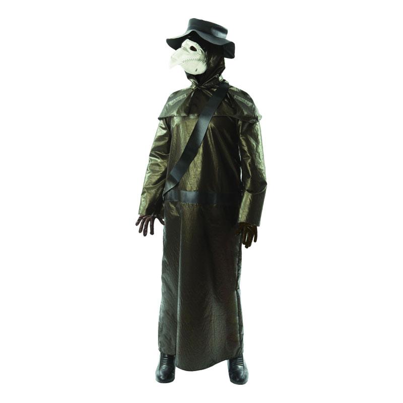 Plague Doctor Maskeraddräkt - Standard