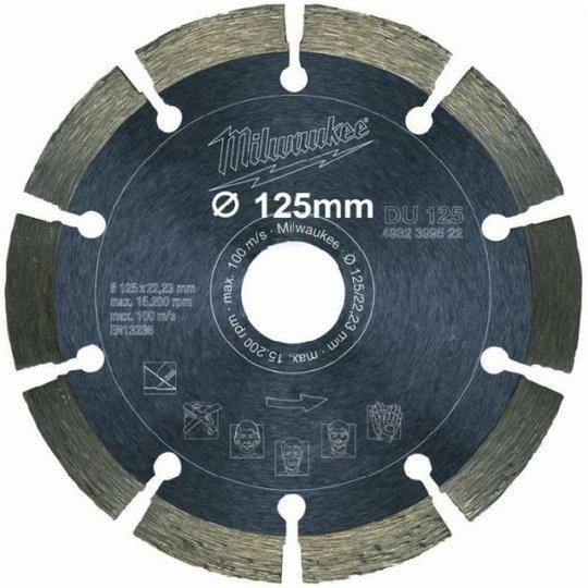 Milwaukee 4932399522 Sahanterä 125x22,2mm
