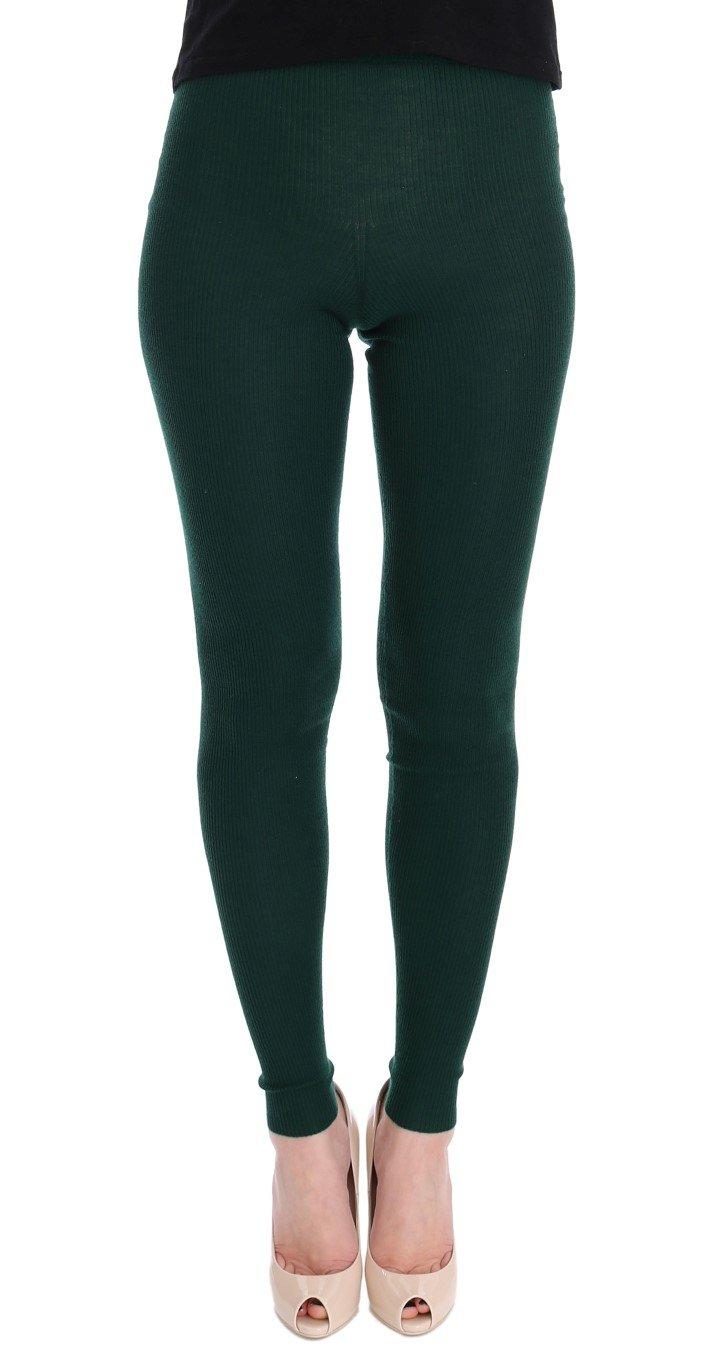 Dolce & Gabbana Women's Tights Green SIG32058 - IT36|XXS