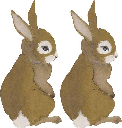 That's Mine Wallsticker Hare Baby