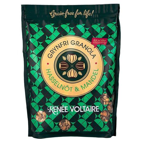 Renee Voltaire Grynfri Granola Hasselnöt & Mandel, 350 g