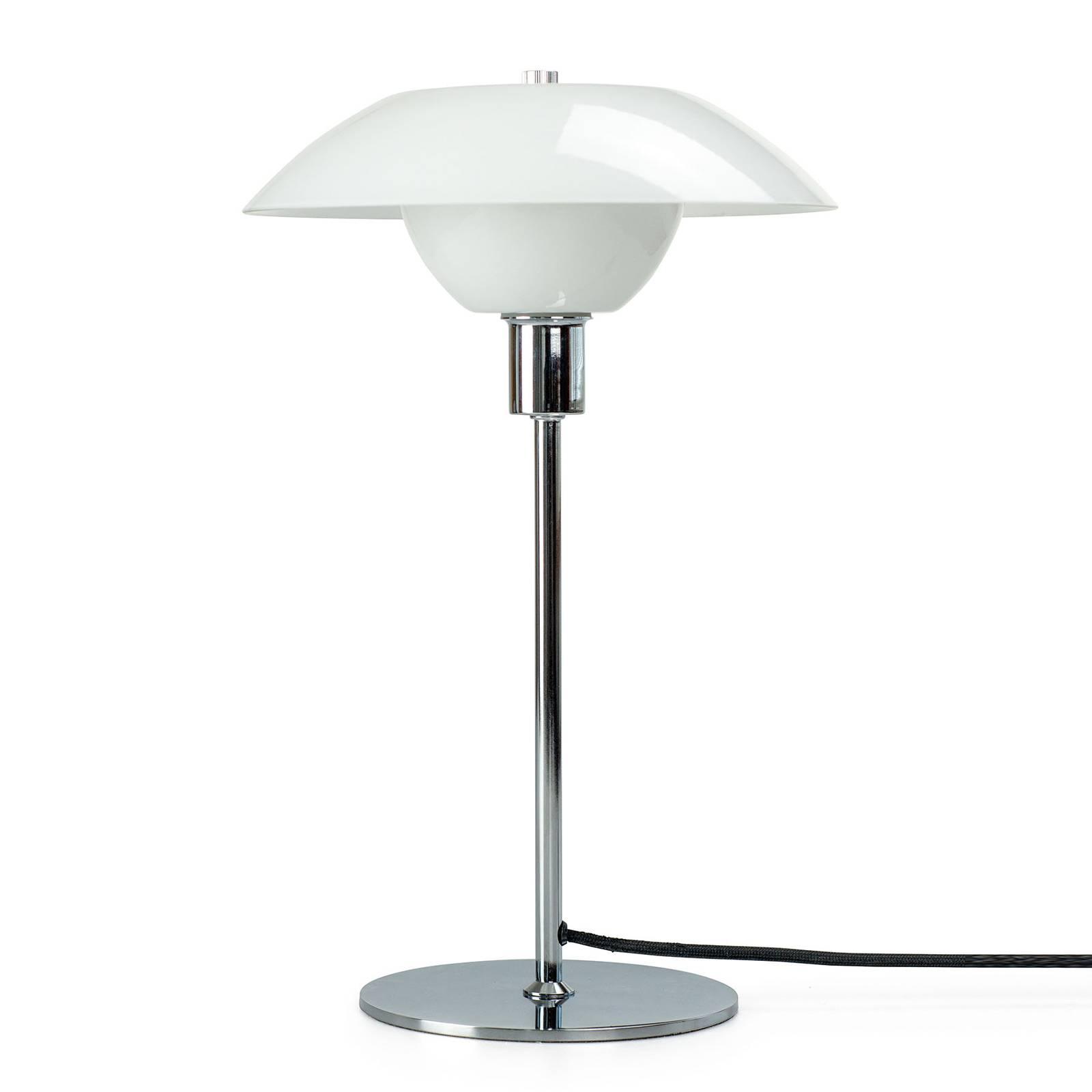 Dyberg Larsen Bergen -pöytälamppu, varjostin Ø25cm