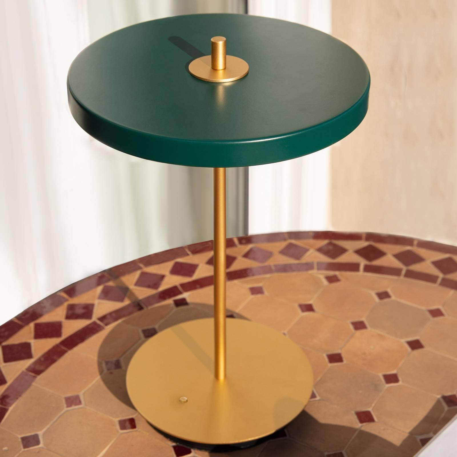UMAGE -LED-pöytälamppu Asteria move, vihreä