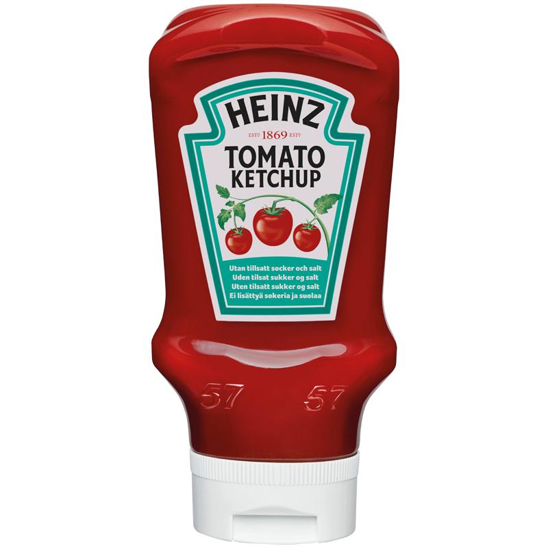 Ketchup utan tillsatt socker och salt - 10% rabatt