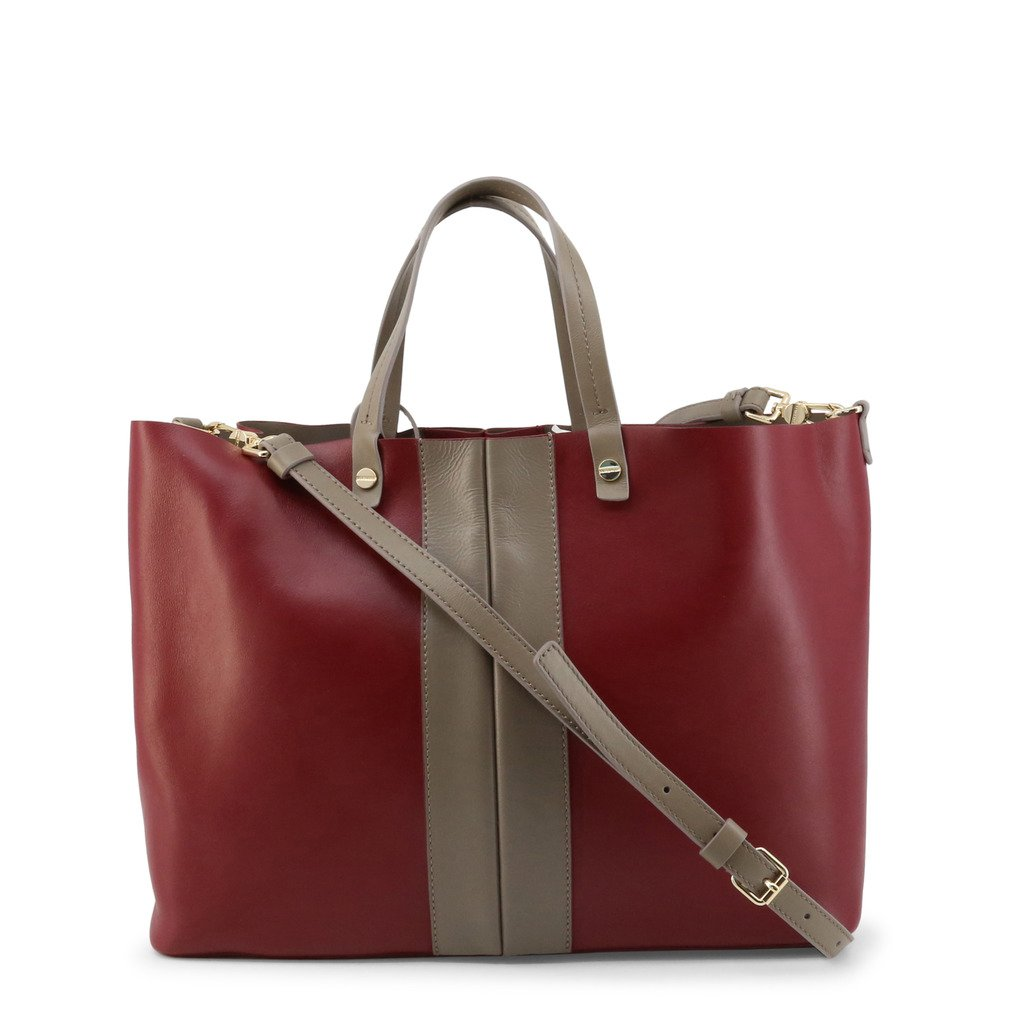 Borbonese Women's Shopping Bag Various Colours 904001-J00 - red NOSIZE
