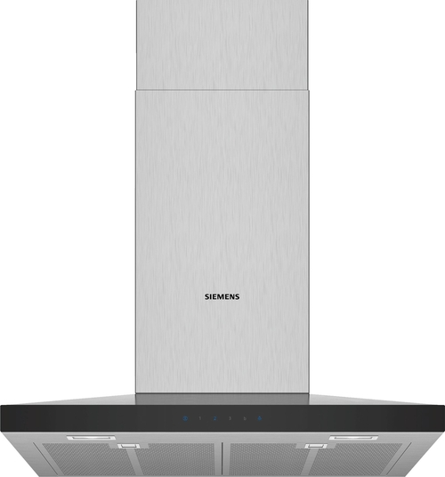 Siemens Lc67qfm50 Iq300 Vägghängd Köksfläkt - Rostfritt Stål