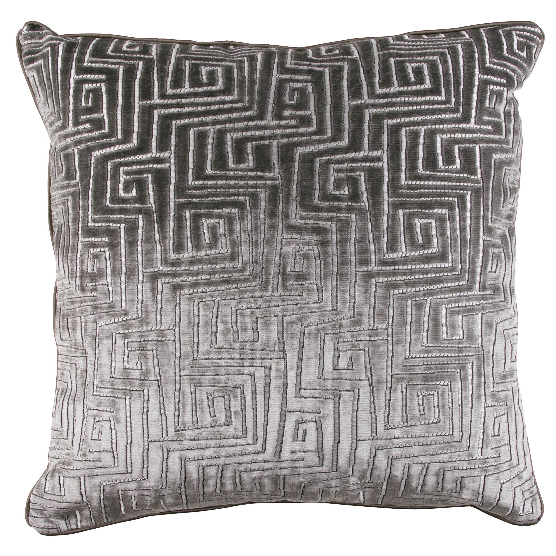 Zinc Romo I Uxmal Cushion | Tungsten 50x50cm