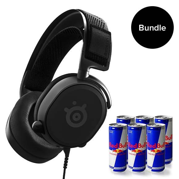Steelseries - Arctis Prime Headset + Limited Redbull Bundle