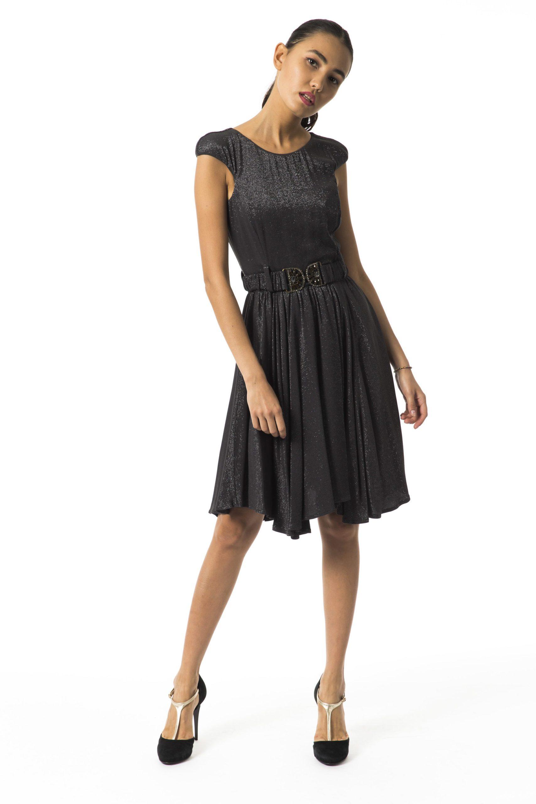 Byblos Women's Sleeveless Dress Gray BY996530 - IT44 | M
