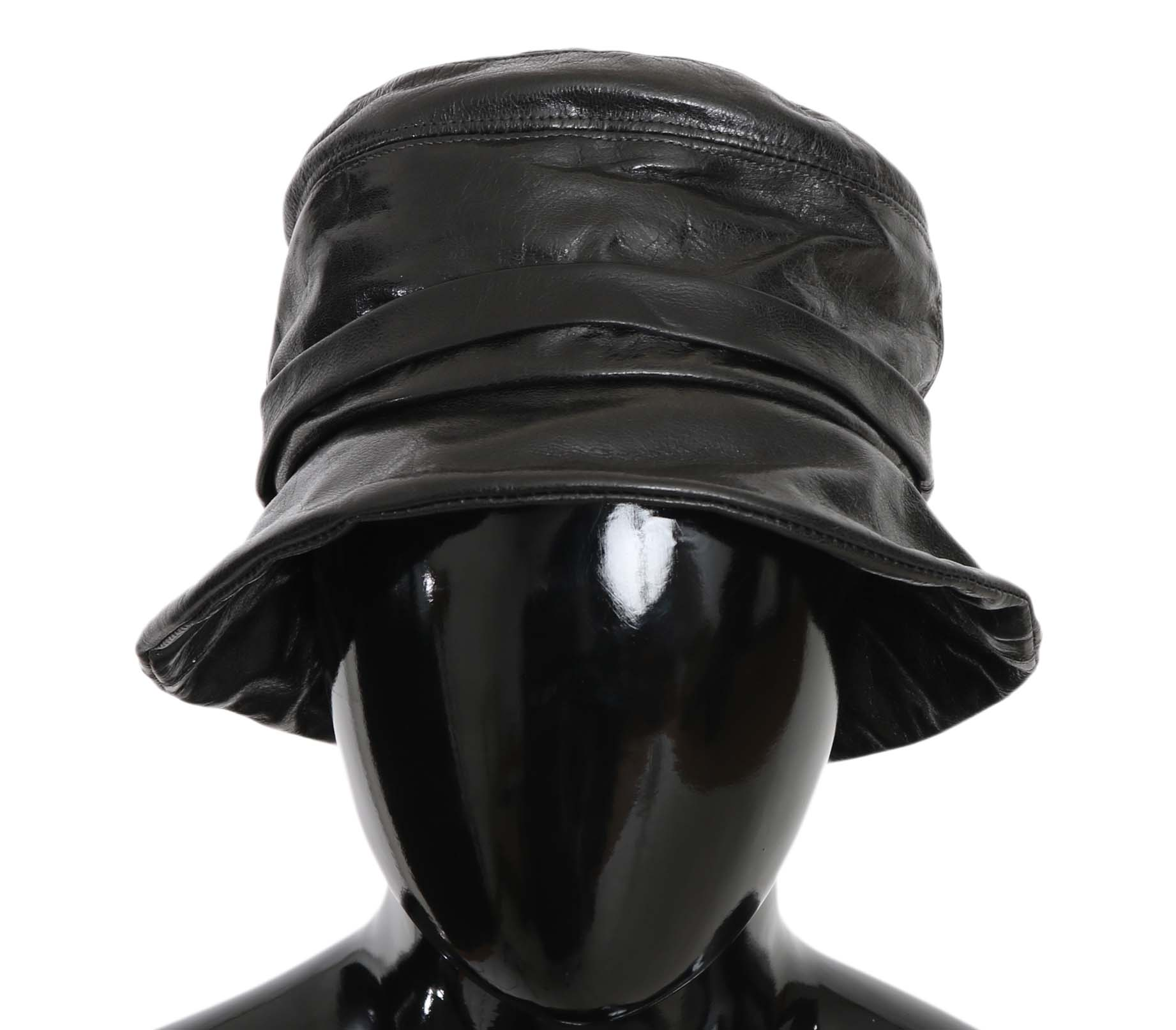 Dolce & Gabbana Women's Hat Black HAT70220 - 56 cm|XS
